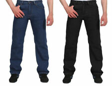 Unbranded Work Classic Fit, Straight Jeans for Men