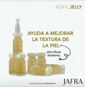 JAFRA Royal Jelly Lift Concentrate With Cellspan,Wrinkles/Lines 7 PC. In box