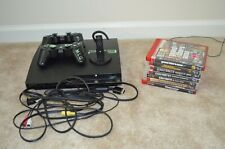 Sony Playstation 3 Console 2 Controllers Microphone 7 Video Game Bundle Package