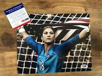 Hope Solo Signed 8x10 US National Soccer Team Photo Autographed AUTO PSA/DNA COA