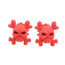 2pcs Skull Compound Bow Stabilizer Limbs Shock Absorber Rubber Archery Accessory