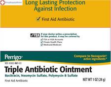 Perrigo Triple Antibiotic Ointment  First aid Bacitracin, Neomycin Sulfate 1 oz