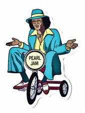 Pearl Jam Sticker Vinyl Decal Rare Backspacer Johnny G - MINT