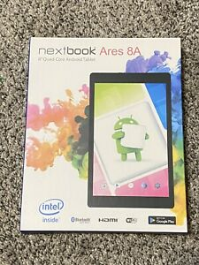 """NEW Nextbook NX16A8116K Ares 8A with WiFi 8"""" Touchscreen Tablet PC Black"""