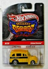Hot Wheels Larry's Garage School Busted Real Riders Yellow 2010