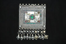 Afghan Vintage Ethnic Antique Afghan Banjara Gypsy Old Pendant Deco Jewelry