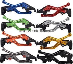 Shorty Brake Clutch Levers Fit Suzuki GSR750 TL1000R/S SV1000/S SV650/S DL650