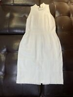 White House Black Market dress White Dress size 2 retro audrey hepburn inspired