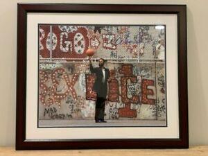 Walt Frazier Signed 16x20 Framed Photo. Steiner COA