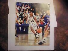 JOHN CELESTAND 1999 PRESS PASS AUTHENTICS AUTOGRAPHED 8 X 10 PICTURE NBA!