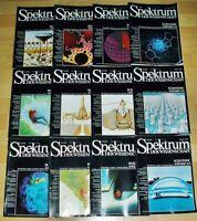 Spektrum der Wissenschaft 1985 komplett Jahrgang Sammlung Zeitschrift Science
