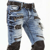 CIPO & BAXX ROCK MENS JEANS DENIM SLIM FIT ALL SIZES