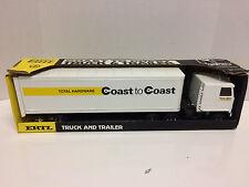 Ertl 1:25 Coast to Coast Total Hardware Cab Over Semi Tractor Trailer #1-LOOK