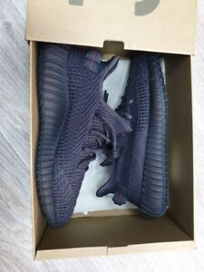 "Adidas Yeezy Boost 350 V2 Black Non-Reflective Size 9.5 ""New Box"""