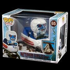 Disney Matterhorn Bobsled and Abominable Snowman Funko Pop! Rides #65 Exclusive