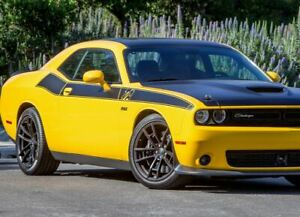Side Stripe Fits: Dodge Challenger 2008-2019  T/A Style Decal hemi r/t srt 3M.