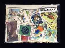 Australie - Australia 200 timbres différents