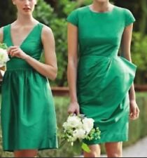 NWT J.Crew Carson Cocktail/Bridesmaid Dress in Black Silk Size 8