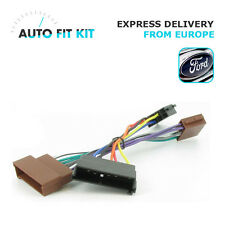 Ford -2004 Wiring Lead Harness Adapter ISO Car Radio Stereo Replacement Plug