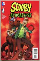 Scooby Apocalypse #1-2016 vf+ 8.5 Jim Lee 1st Variant cover Panosian Scooby-Doo