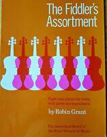 Robin Grant: The Fiddler's Assortment (Violin/Piano) Music Book