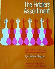 Robin Grant: The Fiddler's Assortment (Violin/Piano) Sheet Music Book