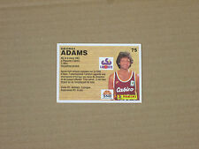ADAMS  - CSP LIMOGES  Carte OFFICIAL BASKET-BALL CARDS panini 1994 PRO A