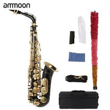 ammoon BE Alto Saxophone Brass Lacquered E Flat Sax With Cleaning Tools