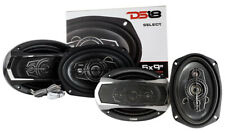 "2 Pair DS18 6x9"" 5-way Car Speakers 520W 4 Ohm Coaxial SLC-N69X"