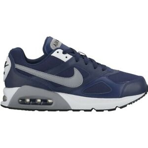 Boys Nike Air Max IVO (GS) Trainers 579995 400 Blue/Grey Size UK 3.5_4.5_6