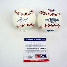 Todd Frazier NY Mets Signed Autograph MLB Baseball PSA/DNA COA