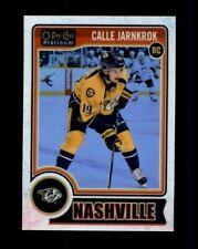 2014-15 O-Pee-Chee Platinum White Ice #161 Calle Jarnkrok RC Rookie /199 (R1263)