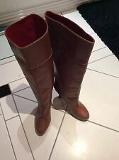 BALLY CASMISOLE WINTER BOOTS LEATHER 4.5 HEEL  41Euro  Post from UK