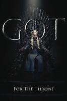 Game of Thrones - Staffel 8 - Daenerys  - Film - Poster - Größe 61x91,5