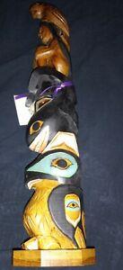 "Alaska Black Diamond Totem Pole, ""SEA WOMAN"" by Ray Moore"