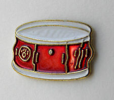 SNARE SIDE DRUM MUSIC ROCK LAPEL PIN BADGE 3/4 INCH