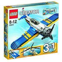 LEGO 31011 Creator Aviation Adventures  Plane, Speedboat, Helicopter 3 in 1 Set