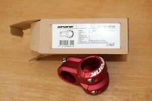 Spank Spoon 2 Stem - Red - 40mm