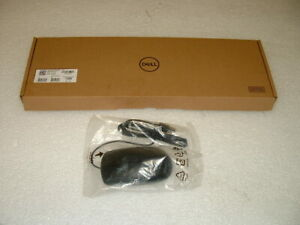 *NEW IN BOX* Dell Wired Keyboard KB216-BK-US and Mouse MS116c Combo