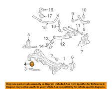 52275-21030 Toyota Cushion, rear suspension member body mounting, rear 522752103