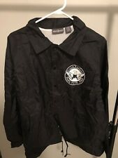 Foundation Band Black Windbreaker Size L Rare Tour Exclusive 1/50 Hang Your Head