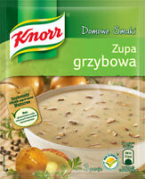 Knorr Zupa Grzybowa Mushroom Soup 50g Bag (3-Pack) Free Shipping! USA Seller