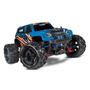 Traxxas 76054-1 LaTrax Teton 1/18 Scale 4WD RC Car (Blue) Brand New