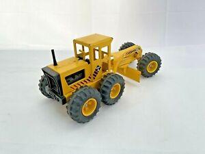"""Vintage Tonka Press Steel Road Grader Classic big Toy Road Scraper 17"""" long"""