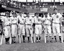 1937 American League All Stars Photo 8X10  Gehrig Dimaggio Foxx Greenberg Cronin