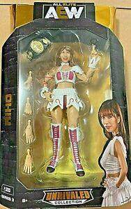 AEW Unrivaled RIHO #20 (Series 3)  All Elite Wrestling Action Figure