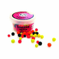 Ringers Coarse Fishing Bait - Allsorts Match Sinking Boilies - 8 & 10mm