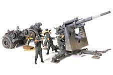 Forces of Valor German Anti-Tank Gun w 5 Figs Stalingrad 1943 1/32 Scale 801008A