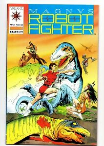 MAGNUS ROBOT FIGHTER # 12 VALIANT COMICS May 1992 FIRST PRINT TUROK 1st APPEAR