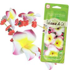 Scented Flower Necklace Odor Eliminating Car Air Freshener Waikiki Wild Hibiscus